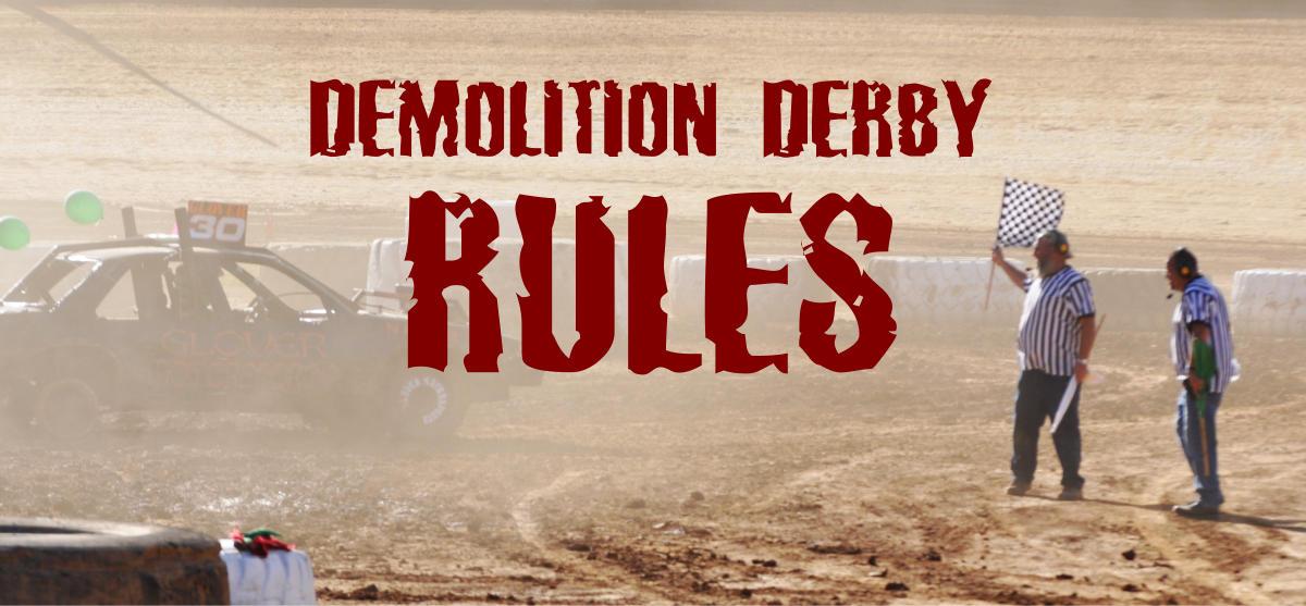 Demolition Derby Rules